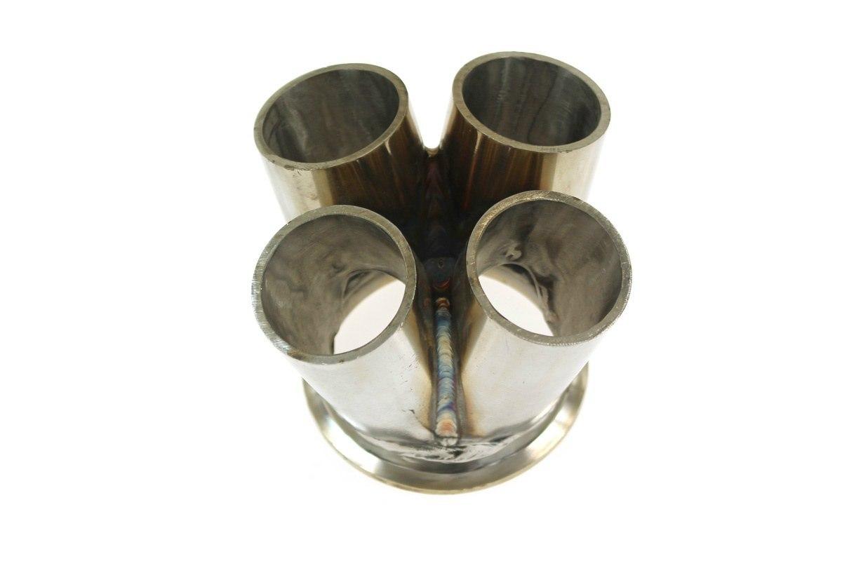 """Flansza kolektor układu wydechowego 4-1 2,5"""" V-Band - GRUBYGARAGE - Sklep Tuningowy"""
